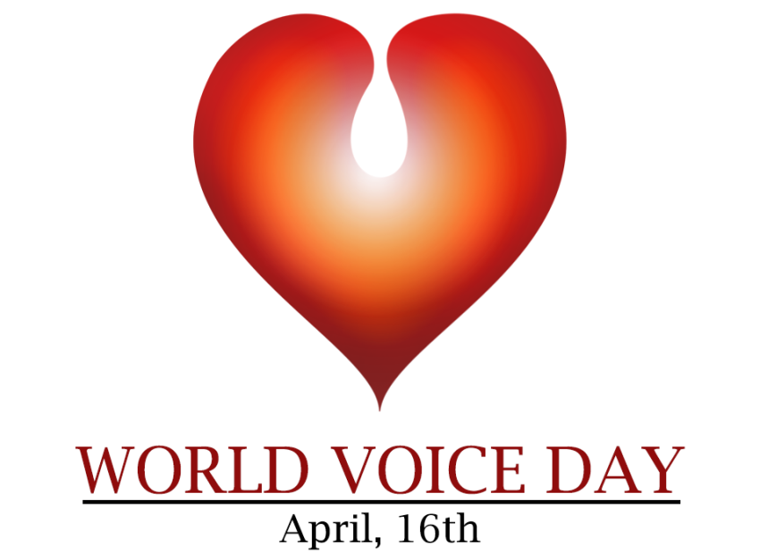 Today is World Voice Day